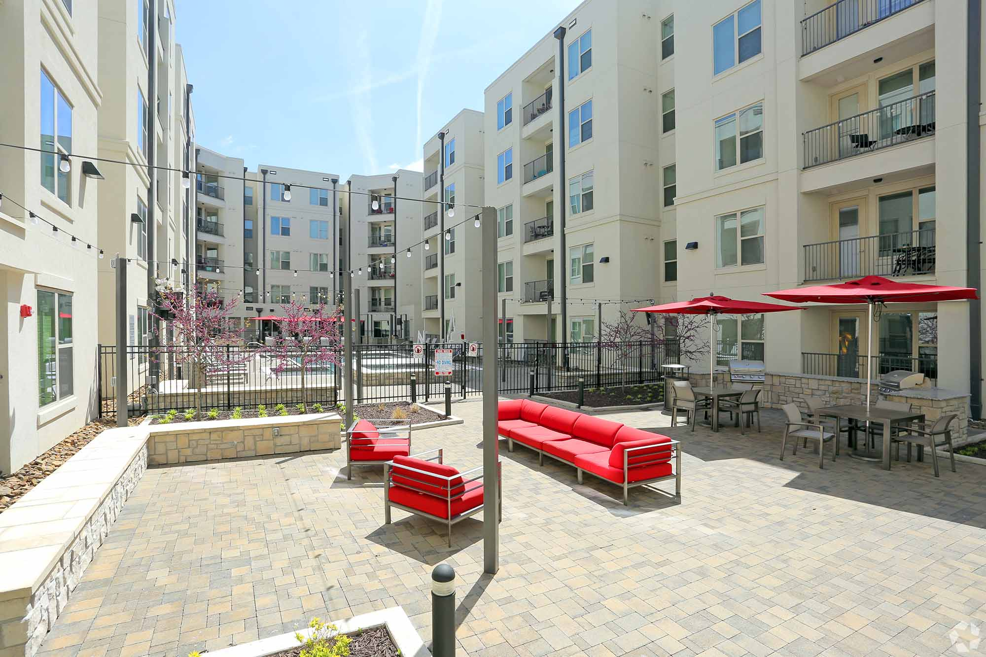 YOUnion Fayetteville courtyard